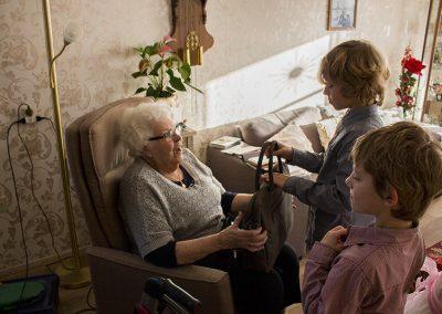 Kerstpakket voor eenzame ouderen