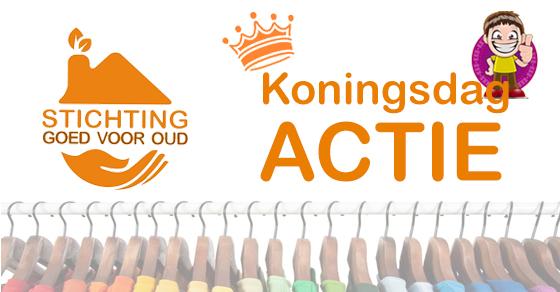 Koningsdag inzamelactie voor de KKB Hoorn!