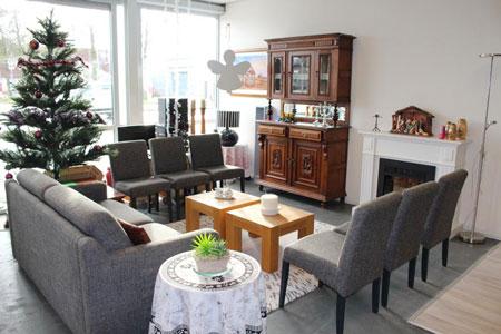 Koffie corner kringloopwinkel voor ouderen
