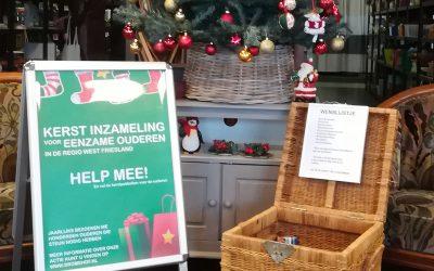 Kerst inzamelingsactie voor eenzame ouderen
