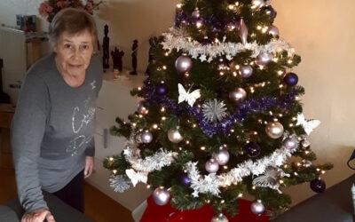 Kerstboom voor Corrie