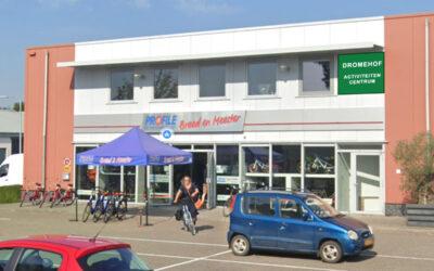 Nieuw: Dromehof activiteitencentrum voor ouderen. Brocante winkel sluit